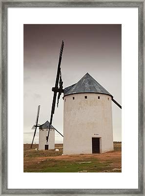 Spain, Castile-la Mancha Region, Ciudad Framed Print