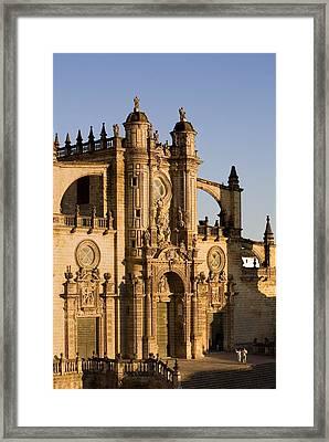 Spain. Jerez De La Frontera. Cathedral Framed Print