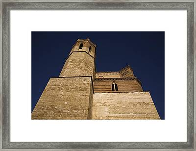 Spain. Teruel. Montalb�n. Church Framed Print by Everett