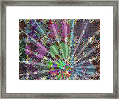 Sparkle Focus Graphic Chakra Mandala By Navinjoshi At Fineartamerica.com Fineart Posters N Pod Gifts Framed Print by Navin Joshi