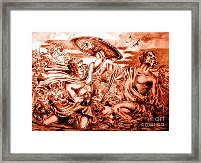 The 15 Framed Print