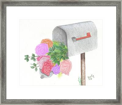 Special Delivery Framed Print