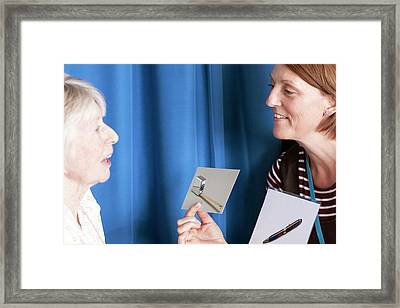 Speech Therapy Clinic Framed Print by Life In View