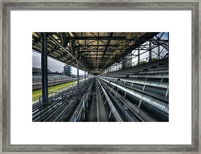Speed Cavern Framed Print by Daniel  Gundlach
