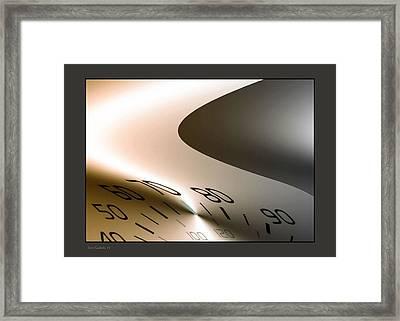 Speed Limit 70 Framed Print