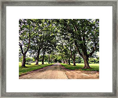 Spencer Peirce Little Farm Framed Print