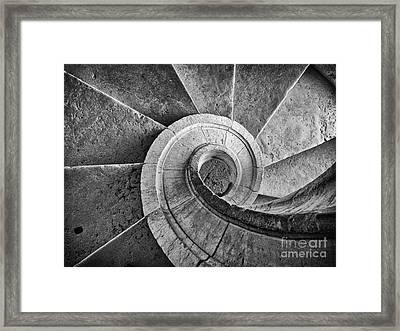Spiral Staircase  Framed Print by Jose Elias - Sofia Pereira