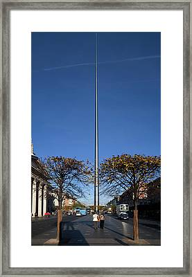 Spire Of Dublin, Officially Titled Framed Print by Panoramic Images