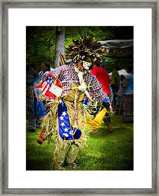 Spirit Dancer Framed Print by Andrea Floyd