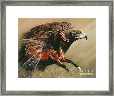 Spirits Take Flight Framed Print