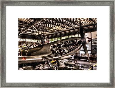 Spitfire Engine Framed Print by Ian Hufton