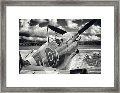 Spitfire Framed Print by Ian Merton