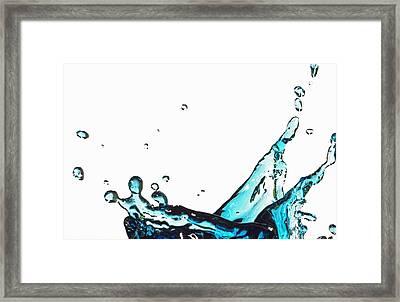 Splash 1 Framed Print