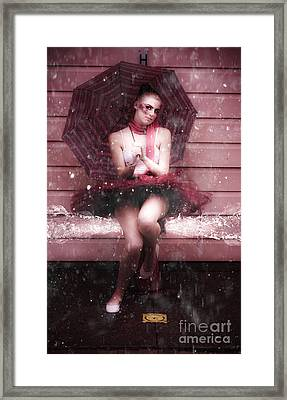 Splash Dancing Framed Print by Jorgo Photography - Wall Art Gallery