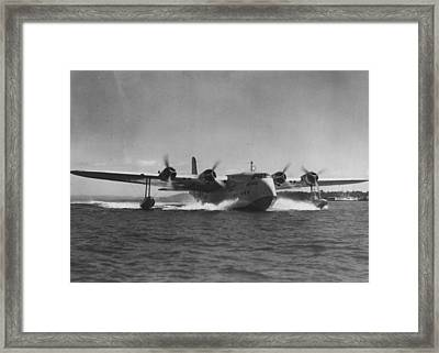 Splash Down Framed Print by Retro Images Archive