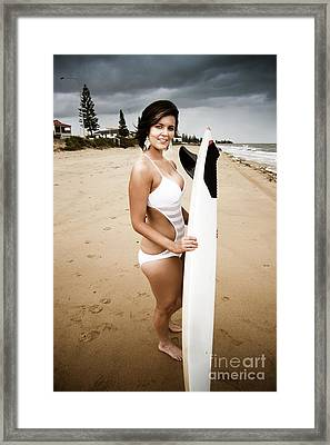 Sports And Recreation Framed Print