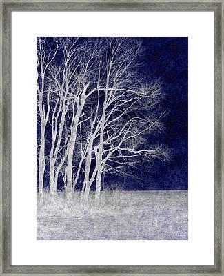 Spring Frost Framed Print by Luke Moore