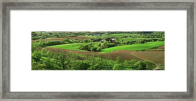 Spring In The Mississippi River Valley Framed Print by Panoramic Images