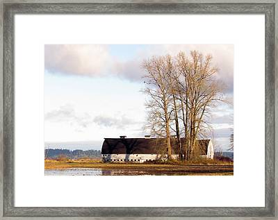 Framed Print featuring the photograph Spring Sunrise by I'ina Van Lawick