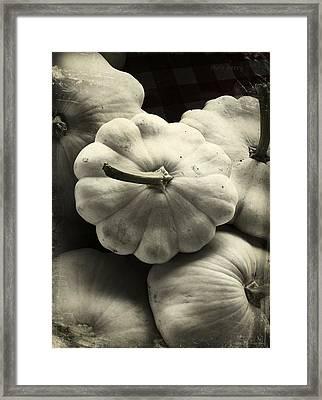Squash Framed Print by Chris Berry