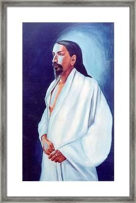 Sri Aurobindo  Framed Print by Shiva Vangara