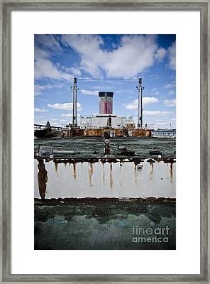 Ss United States Framed Print by Jessica Berlin
