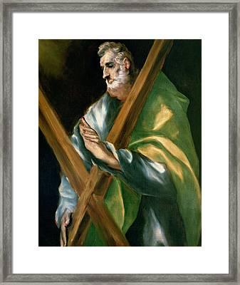 St Andrew Framed Print