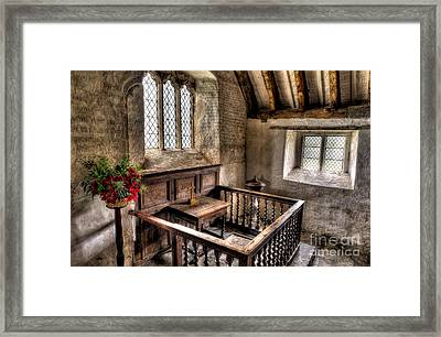 St Celynnin Church Framed Print by Adrian Evans