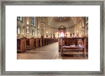 St. Francis Xavier Framed Print by David Bearden
