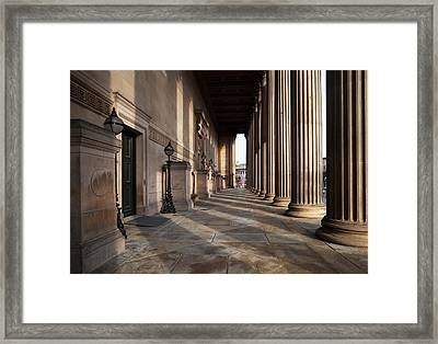 St Georges Hall, Liverpool, Merseyside Framed Print by Panoramic Images