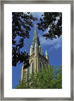St. John's Episcopal Church Framed Print