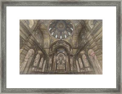 St. Louis Missouri Cathedral Basilica Framed Print by David Haskett