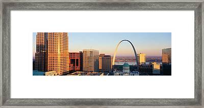 St. Louis Skyline Framed Print
