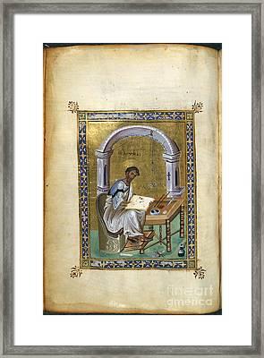 St. Luke Framed Print