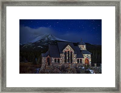 St. Malo Nights Framed Print by Darren  White
