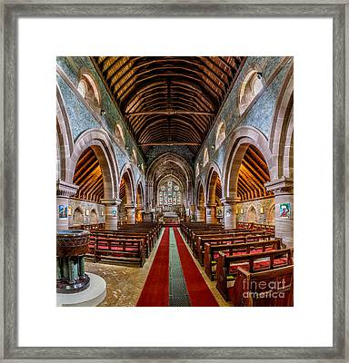 St Mary Framed Print by Adrian Evans