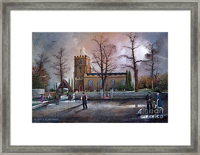 St Marys Church - Kingswinford Framed Print