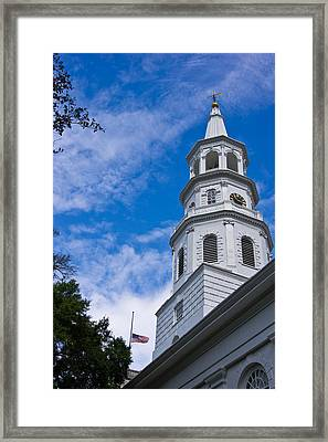 St. Michael's Episcopal Framed Print