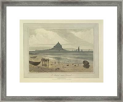 St. Michaels Mount Framed Print