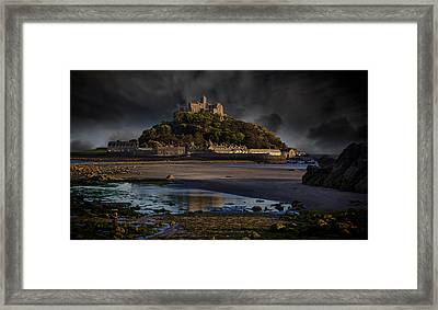 St Michael's Mount Cornwall Framed Print