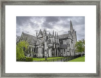St Patricks Cathedral - Dublin Ireland Framed Print by Bill Cannon