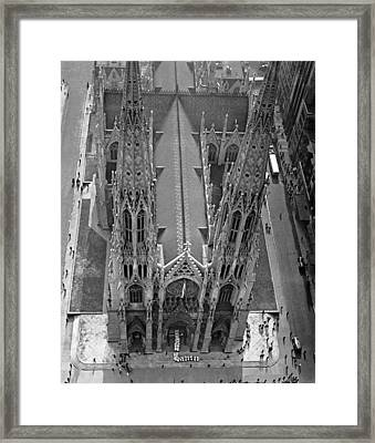 St. Patrick's Cathedral Framed Print by Underwood Archives