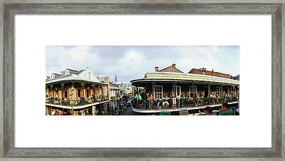 St. Patricks Day, Celebration In New Framed Print