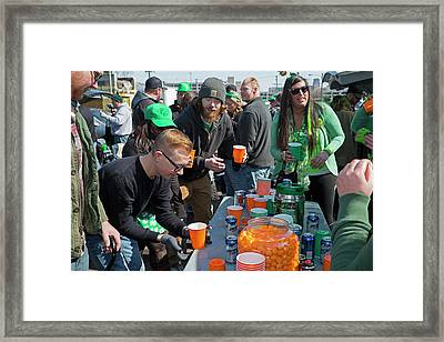 St. Patrick's Day Celebrations Framed Print