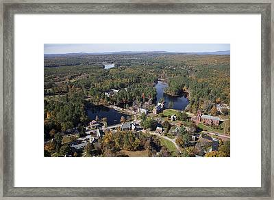 St. Pauls School, Concord Framed Print by Dave Cleaveland