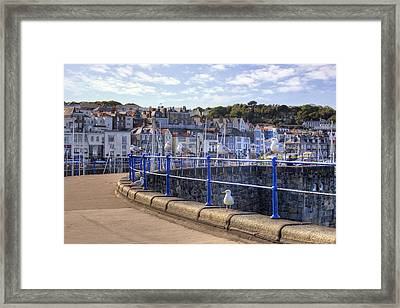 St Peter Port - Guernsey Framed Print by Joana Kruse
