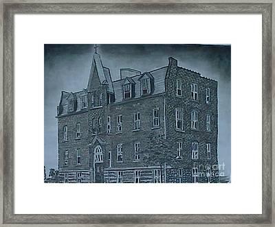 St. Vincent's Memorial Hospital Framed Print