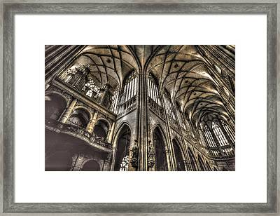 St Vitus Cathedral Prague Framed Print