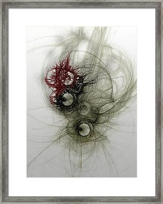 Stable Release Framed Print