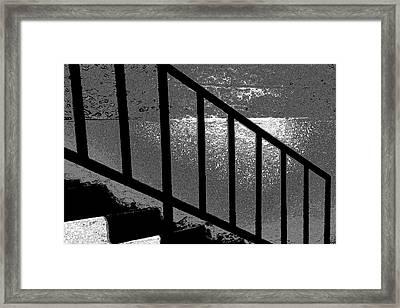Stairs Framed Print by Lenore Senior